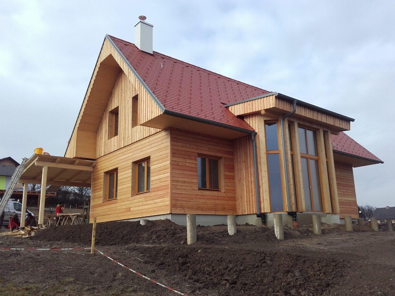 Thoma Haus in Mellach Feldgrill Bau